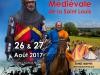 Grande foire médiévale de la Saint Louis à Crécy-en-Ponthieu les 26 et 27 août 2017