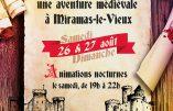 26 et 27 août 2017 – Animations médiévales à Miramas-le-Vieux