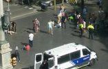 Attentat à Barcelone : un véhicule fonce dans la foule, deux individus armés retranchés dans un restaurant