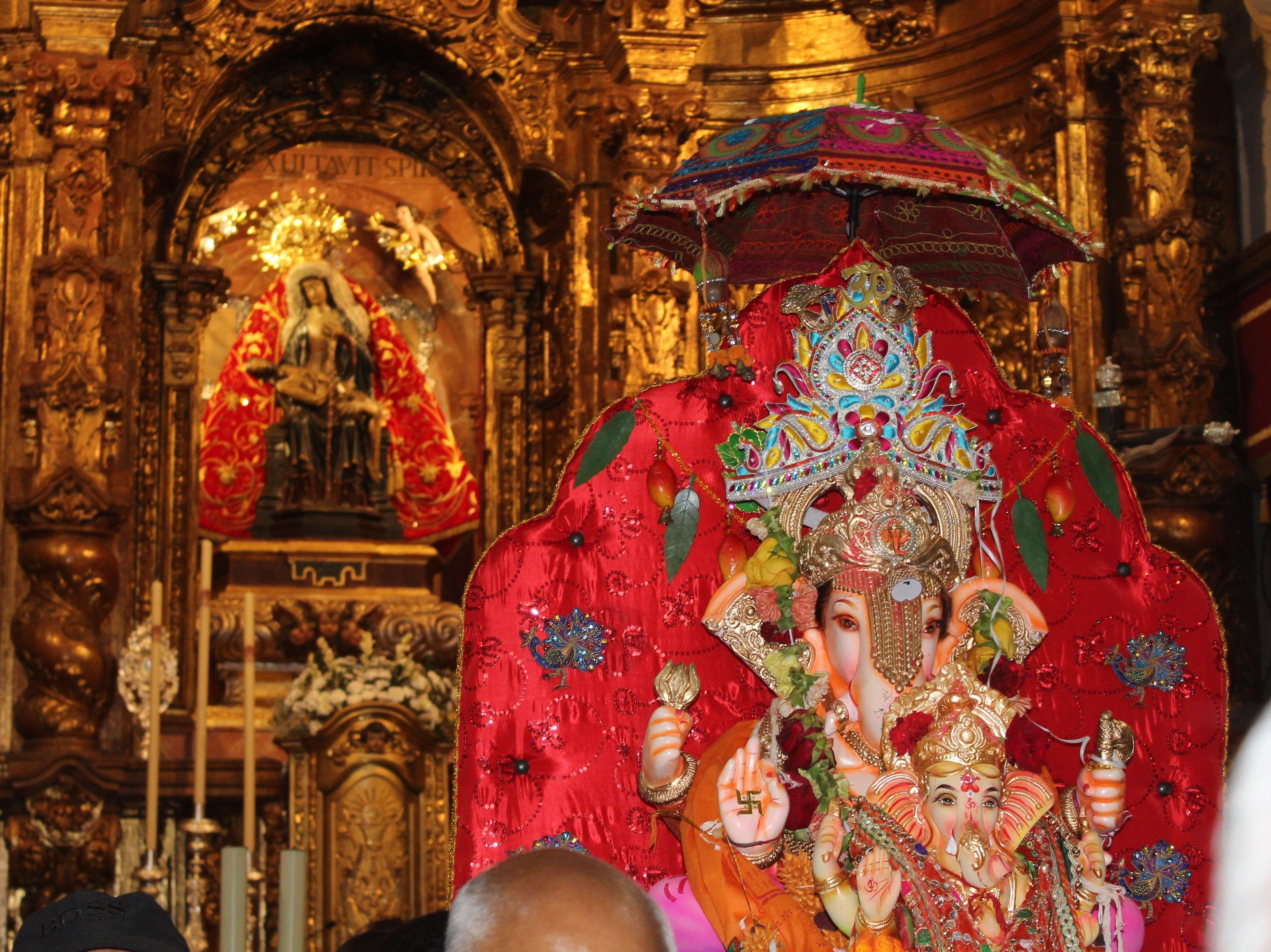dieu hindou tete de singe