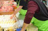 A Colmar, les paysans reprennent le Lidl pour y vendre en direct leurs produits