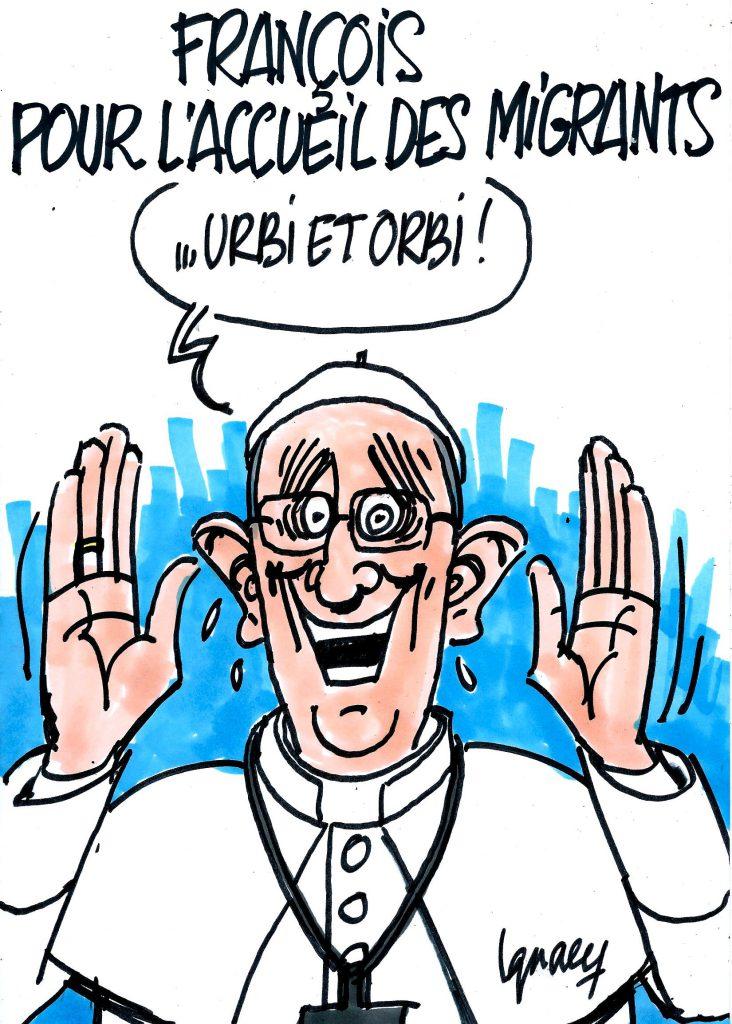 Ignace - François pour l'accueil des migrants