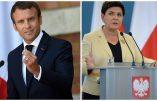 Emmanuel Macron remis à sa place par le Premier ministre polonais