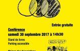 30 septembre 2017 à Aix-les-Bains – Conférence de Jean-Michel Vernochet : «Le grand remplacement»