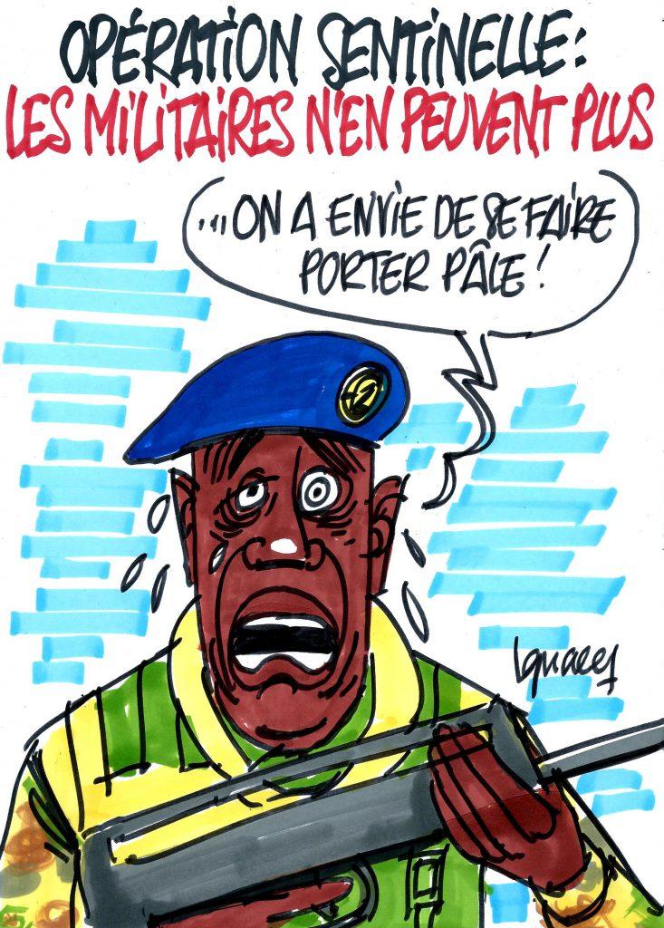 Ignace - Opération sentinelle : les militaires n'en peuvent plus