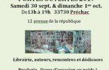 Journées Portes Ouvertes de Livres en Famille le 30 septembre à Préchac – Sud Gironde