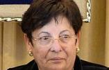 Israël – Le baroud d'honneur de Miriam Naor