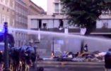 Rome – Situation explosive entre immigrés et policiers
