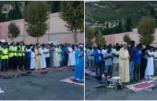En Italie, des immigrés illégaux se rassemblent devant un cimetière chrétien pour célébrer l'Aïd