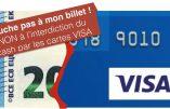 Visa participe activement à l'offensive pour la disparition de l'argent liquide