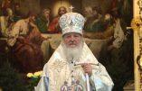 Le patriarche de Moscou explique l'incohérence intrinsèque à la devise républicaine: «liberté, égalité, fraternité».