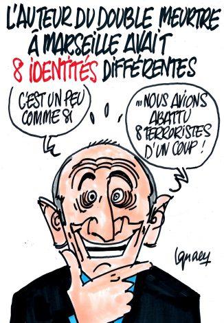 Ignace - Le terroriste de Marseille avait 8 identités