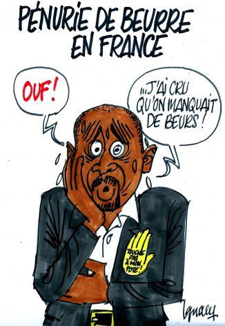 Ignace - Pénurie de beurre en France