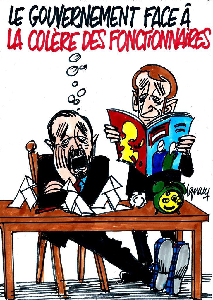 Ignace - Le gouvernement face à la colère des fonctionnaires