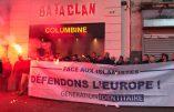Génération Identitaire devant le Bataclan malgré l'interdiction de sa manifestation