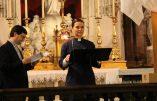 La paroisse Notre-Dame des Blancs-Manteaux a fêté Halloween par une messe «œcuménique» avec une femme «pasteure de l'église protestante unie»