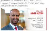 Canada – Ahmed Hussen, ministre de l'Immigration, annonce un plan d'accueil d'un million de nouveaux immigrés en trois ans