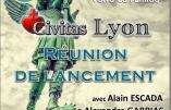 2 décembre 2017 – Lancement de Civitas Lyon avec Alain Escada et Alexandre Gabriac