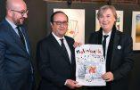 François Hollande en visite à Molenbeek pour célébrer le «vivre ensemble»
