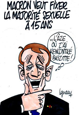 Ignace - Macron pour la majorité sexuelle à 15 ans