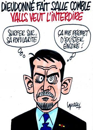 Ignace - Valls veut faire interdire Dieudonné