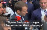 Immigration : Emmanuel Macron évoque timidement le retour au pays