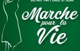 26 novembre 2017 à Lyon – Marche pour la Vie