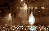 8 décembre 2017 à Lyon – Procession aux flambeaux vers Notre-Dame de Fourvière