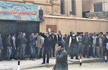 L'Etat Islamique revendique l'attentat contre une église copte qui a fait neuf morts