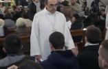 De jeunes catholiques empêchent une célébration œcuménique dans l'église Saint Irénée de Lyon