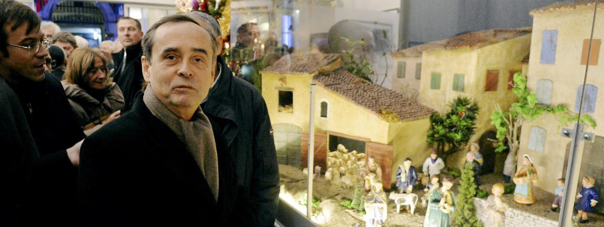Haineusement antichrétien, l'Etat expulse la crèche de Noël de la Mairie de Béziers Creche-beziers-noel2017