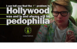 Après les porcs sexistes, les porcs pédérastes d'Hollywood…