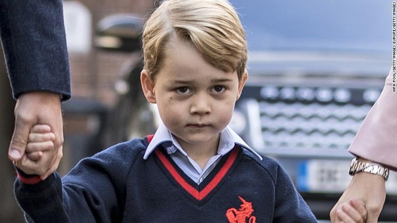 Une branche du protestantisme prie pour que le prince George d'Angleterre devienne homosexuel ! Prince-george