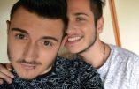 Alex Ferrari, in primo piano, con Luca Bortolotto alle sue spalle, in una foto del profilo Facebook di Alex Ferrari. 2 gennaio 2018.  +++ATTENZIONE LA FOTO NON PUO' ESSERE PUBBLICATA O RIPRODOTTA SENZA L'AUTORIZZAZIONE DELLA FONTE DI ORIGINE CUI SI RINVIA+++