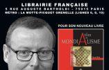 Ce samedi 20 janvier 2018 à la Librairie Française, rencontre-dédicaces avec Pierre Hillard