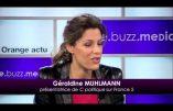 Dîner maçonnique au Sénat autour de la journaliste Géraldine Mülhmann