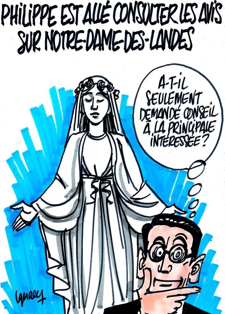 Ignace - Édouard Philippe à Notre-Dame-des-Landes