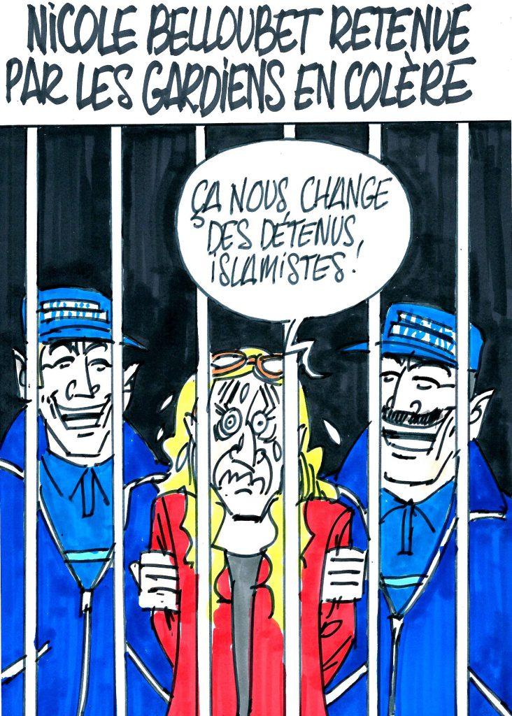 Ignace - Ministre de la justice prise en otage