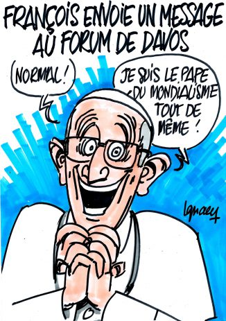 Ignace - François et le forum de Davos
