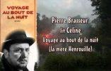 Louis-Ferdinand Céline lu par Pierre Brasseur