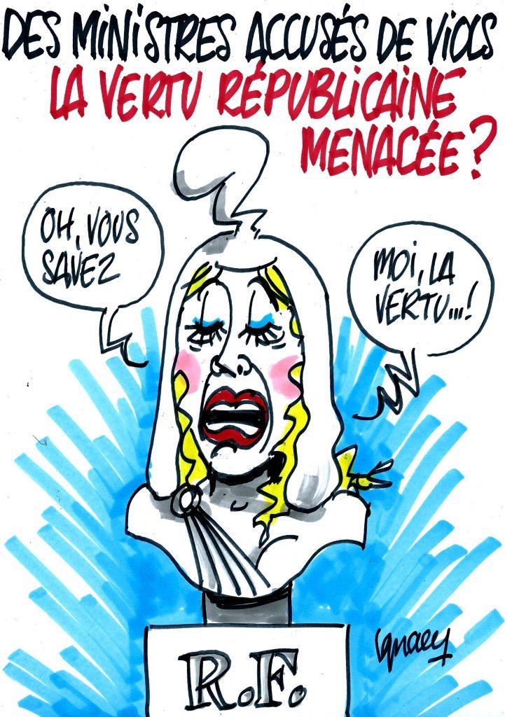 Ignace - Des ministres accusés de viols