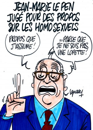 Ignace - Jean-Marie Le Pen homophobe ?
