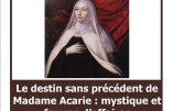 5 mars 2018 à Paris – «Madame Acarie : mystique et femme d'affaires»