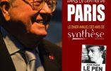 Dîner annuel des amis de Synthèse Nationale avec Jean-Marie Le Pen