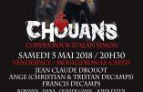 5 mai 2018 au Vendéspace – «Chouans», le nouveau spectacle d'Alan Simon