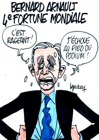 Ignace - Bernard Arnault 4e fortune mondiale