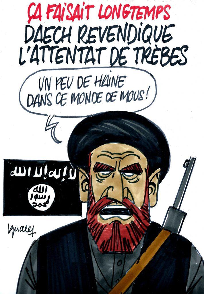 Ignace - Daech revendique l'attentat de Trèbes