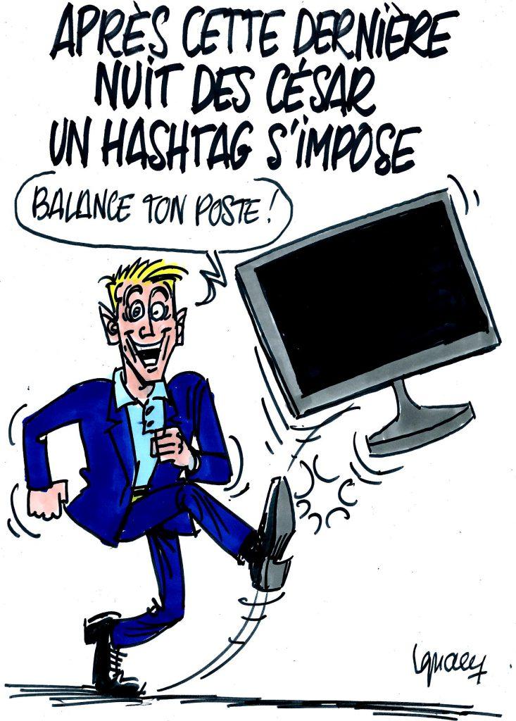 Ignace - Un hashtag pour la nuit des César
