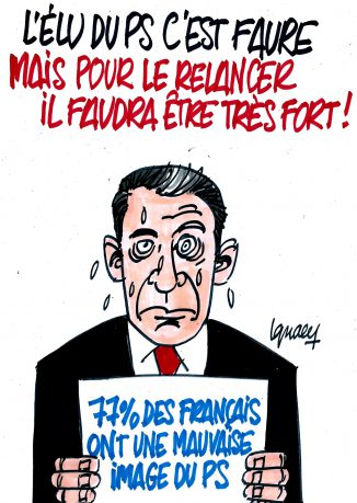Ignace - Olivier Faure, nouveau secrétaire du PS