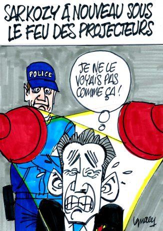 Ignace - Sarkozy sous le feu des projecteurs